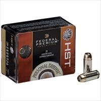 Federal Personal Defense 9mm 124gr HST 20/bx