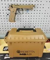 Beretta M9A3 with Ammo Box and 3 Sand-Resistant Magazines