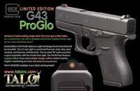 Glock 43 9mm TALO Ed. with AmeriGlo Brand Sights