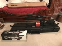 Savage BA110 .338 Lapua Mag with NightFroce BEAST scope.