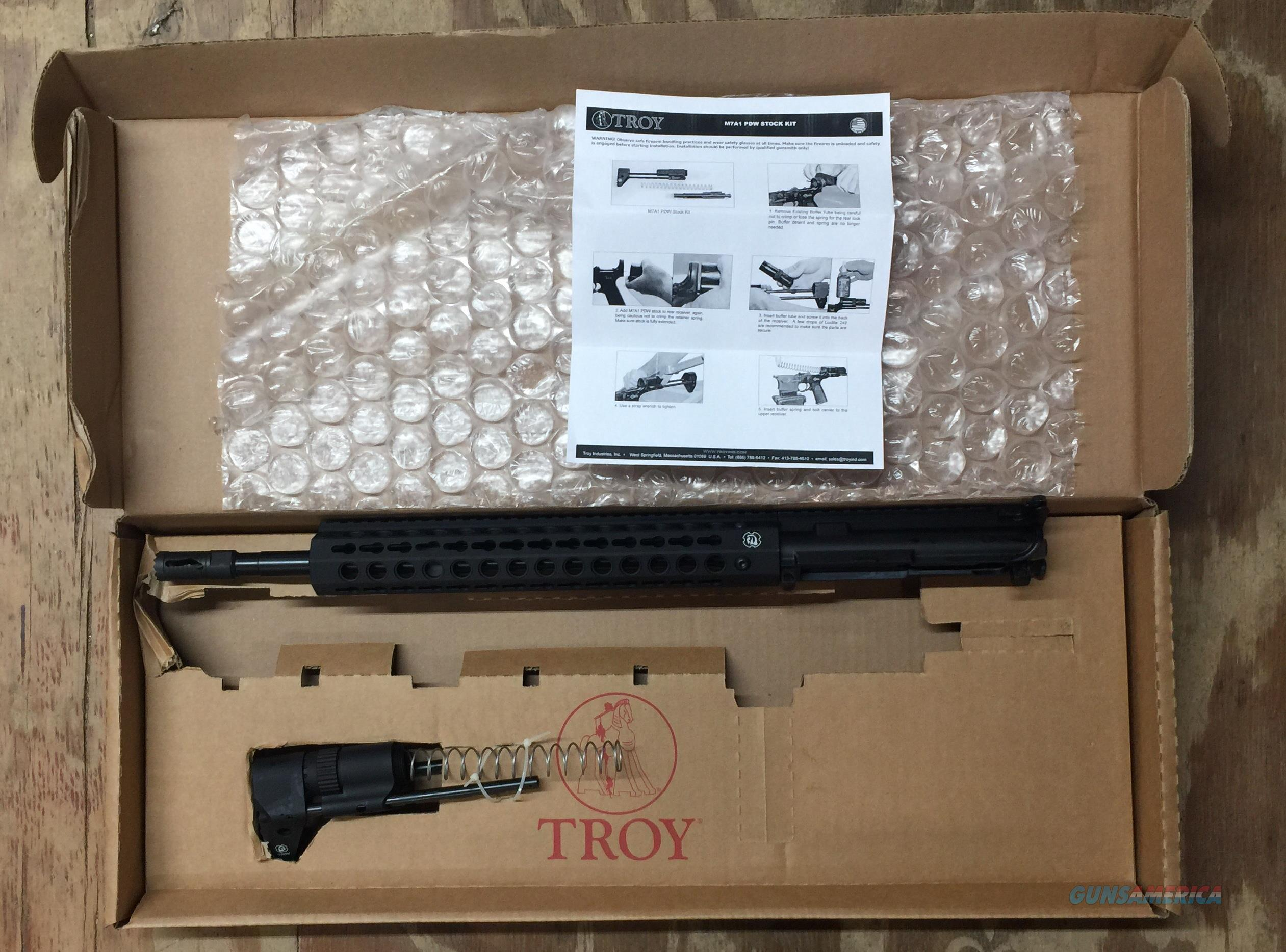 Troy UPPER Package PDW PROMO 16