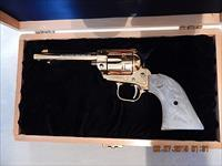 1966 Colt Single-Action Revolver - Colorado Gold Rush Era Commemorative Edition - 24k Gold Plated - Only 1350 Made