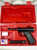 Ruger MKII 22LR 50th Anniversary pistol in box and 2 mags