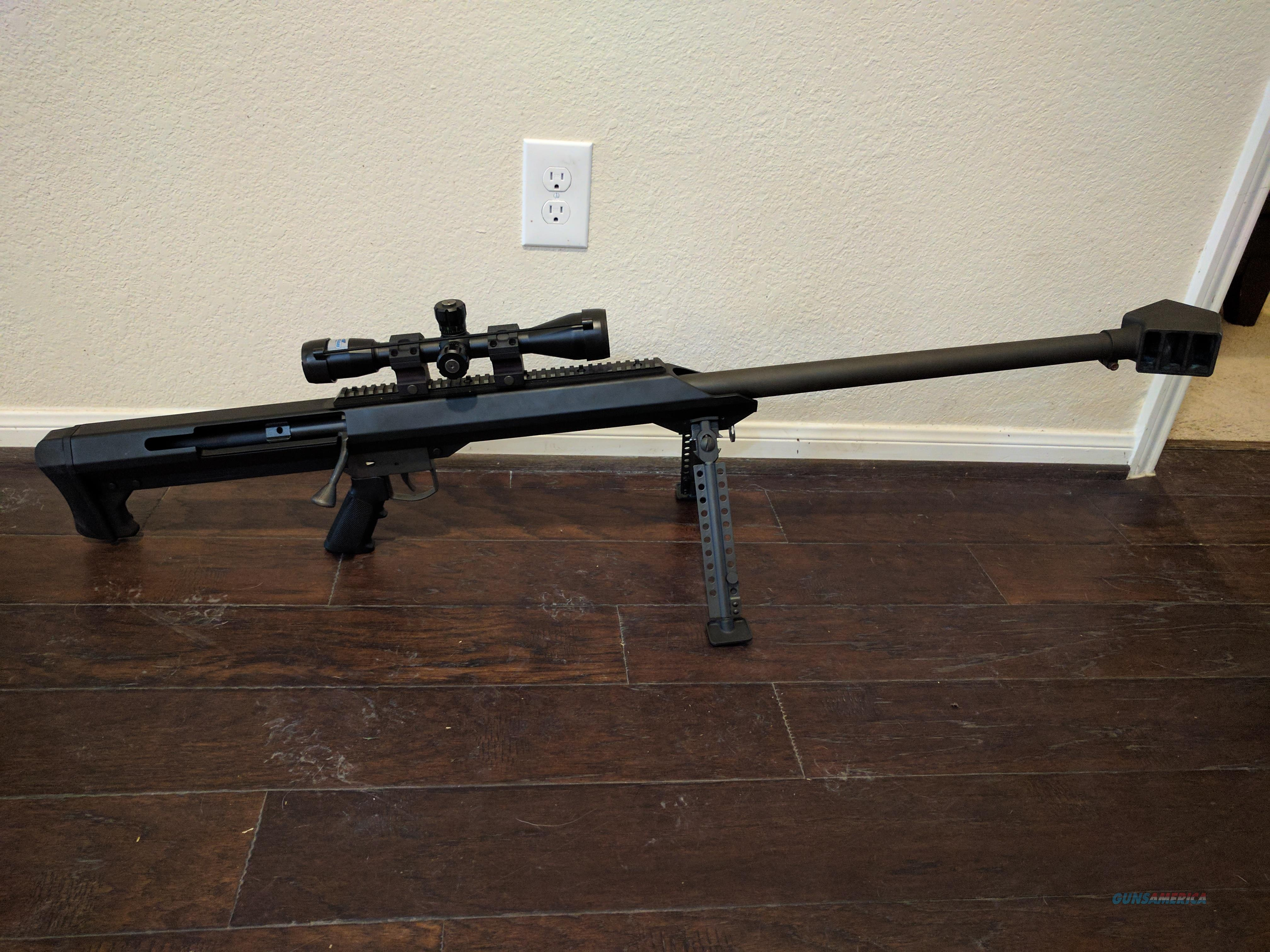 Barrett M99 Bolt Action  416 Barrett with scope
