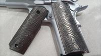 FIT ALL 1911 Grips COLT Grips Scroll Colt Full Size Government US Army Black