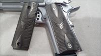1911 Grips Custom METAL GRIPS Colt Full Size Government US Air Force Black