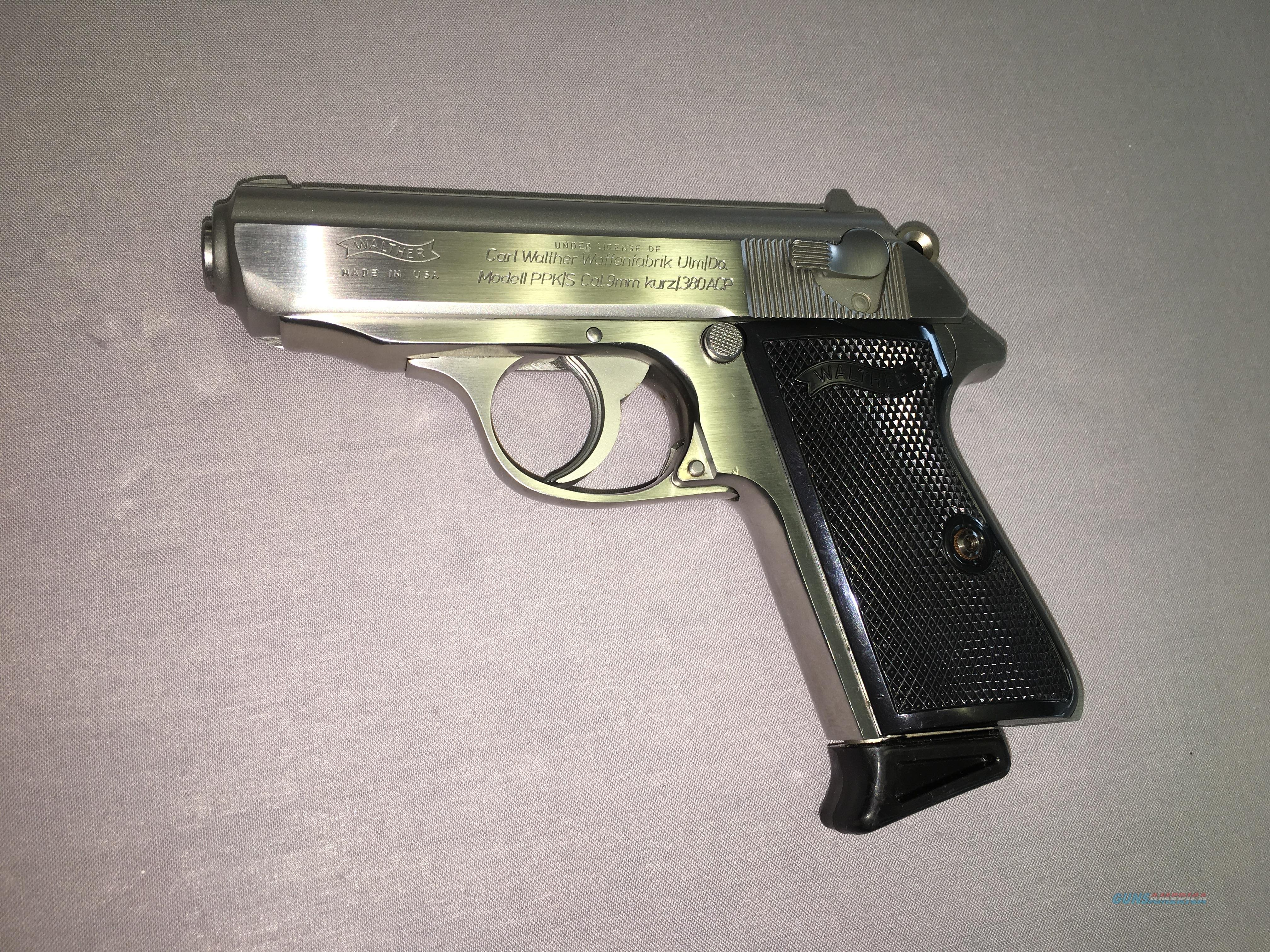 Walther PPK/S Cal  9MM kurz/ 380 ACP