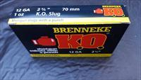 Brenneke K.O. Slugs (5 Boxes)