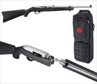 "Ruger 10/22 Takedown 22 Long Rifle 18.5"" Black Synthetic Black"