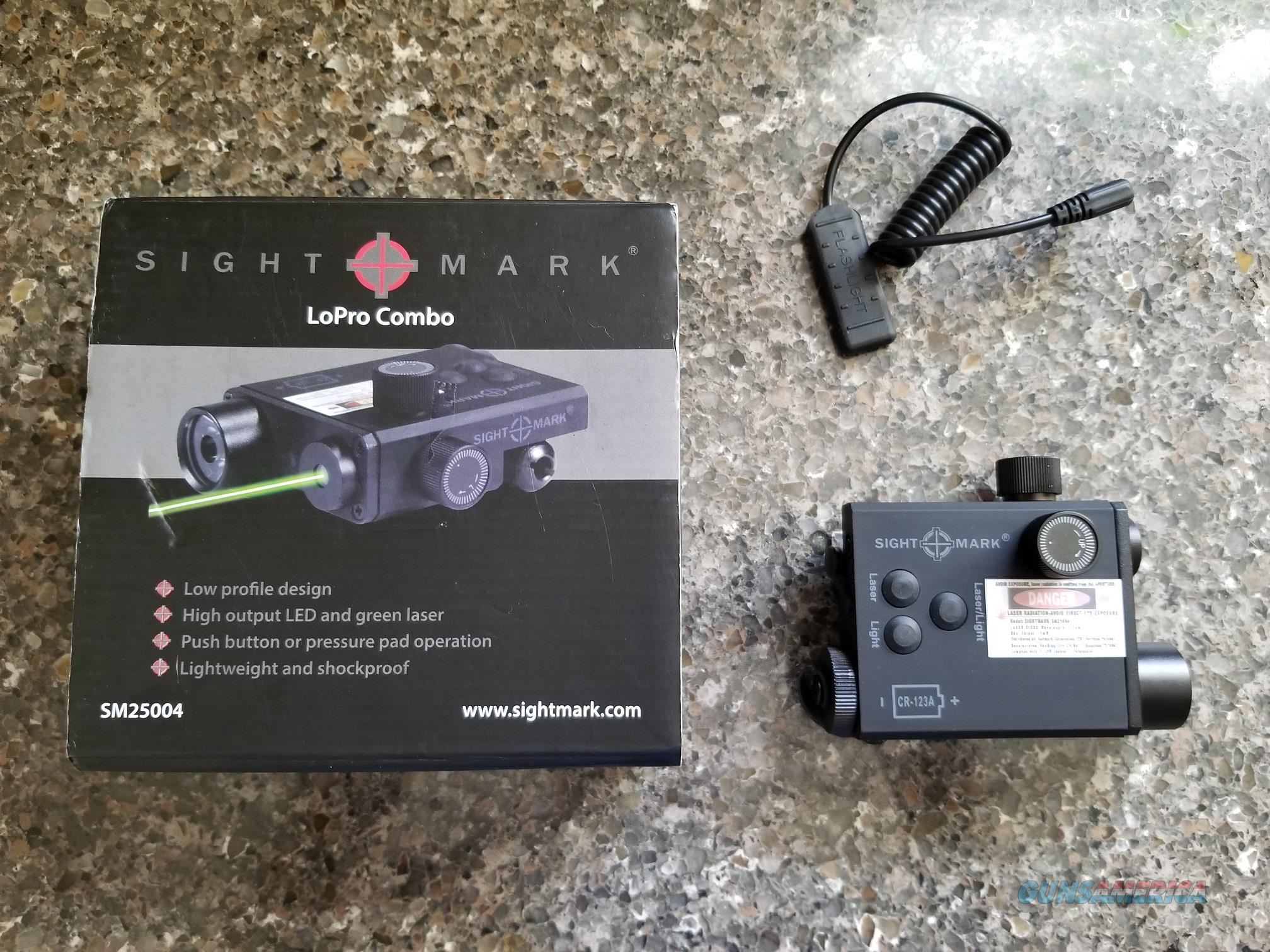 Brand New Sight Mark Lo Pro Laser Light Compbo For Sale