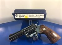 Colt Python Elite SUPER RARE 4in ROYAL BLUE Mint!