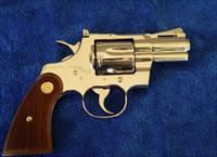 "1968 Colt Python - 2.5"", nickel with letter"