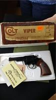 RARE Colt Viper 38 Blue Unfired in Original Box