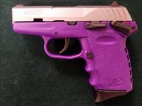 SCCY CPX-1 TTPU  Purple / Stainless 9mm Pistol