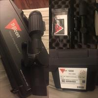 Trijicon Vcog 1-6x24 Red Segmented Circle / Crosshair .223 / 55 Grain Ballistic Reticle w/ Thumb Screw Mount