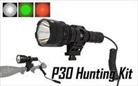 Nitecore P30 1000 Lumen, XP-L HI V3 LED Flashlight Hunting Kit FL-NITE-P30-HUNT