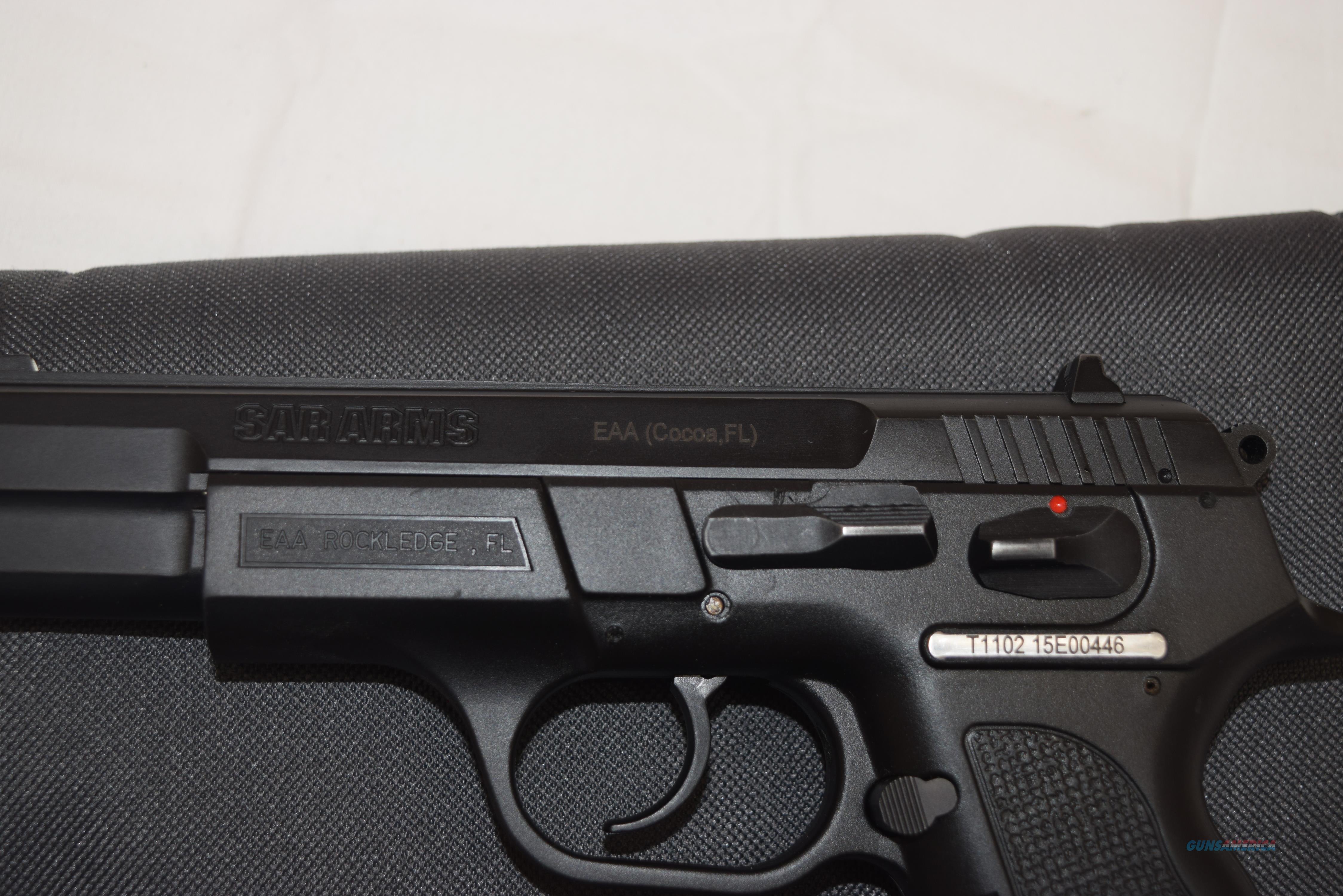 Sar Arms EAA SAR B6P 9mm Semiauto Pistol