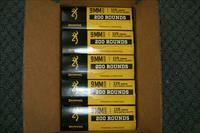 1000 Rounds Browning 9mm 115 FMJ No Credit Card Fees!
