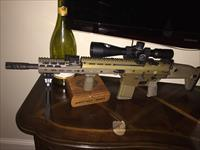 Scar 17 FDE With Nightforce C429 3.5 x 15-50 Scope.