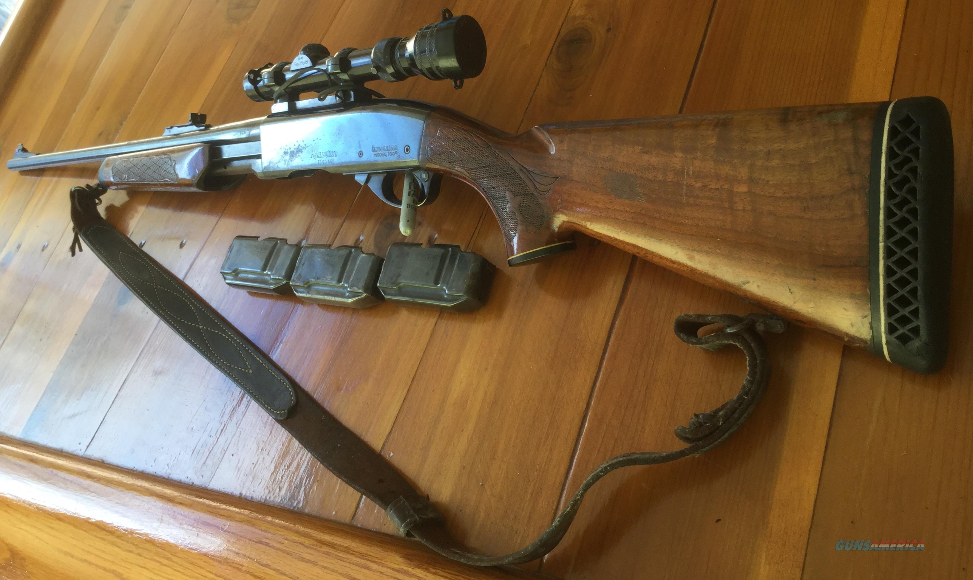 Remington 760 Gamemaster in  243 Win