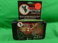 Predator Tactics Buck Lantern Head Light Kit with Green/White LED