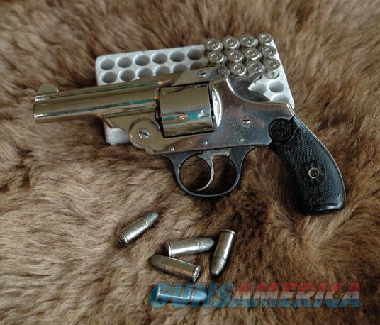US Revolver one set bakelite grips owl head model