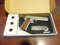 Ruger SR 1911 Stainless 45 5 inch