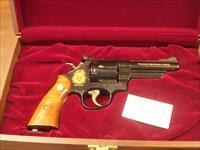 "Smith& Wesson 25-9 4"" Blue  45 Long Colt Revolver"