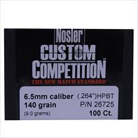 Nosler 6.5Mm Bullets 49823