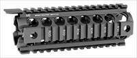 Midwest Industries, Inc. Quad-Rail Drop In For Ar-10 Armalite Carbine Length R10CHG2