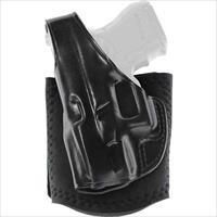 Galco Ankle Glove Holster Lh Leather Glock 43 Black AG801B