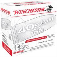 Winchester Ammo 40Sw 165Gr Fmj 200/3 020892221833