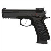 Czusa Cz 75 Sp-01 Shadow Target Ii 9Mm Black 18 Round 91760