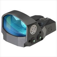Sig Romeo1 Reflex Sight, 1X30mm, 3 Moa Red Dot, 1.0 Moa Adj, Hand SOR11005