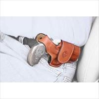 Bond Arms Arms Driving Holster Rh Thumbsnap Leather Tan BAH-DT-350-TNRBT