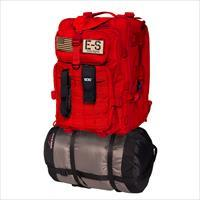 Echo-Sigma Emergency Bug Out Bag Red ES-BOB-RED