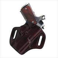 Galco Con400h Concealable Belt Holster  Hk Usp Compact 9/40/45 Steerhide Brown CON400H