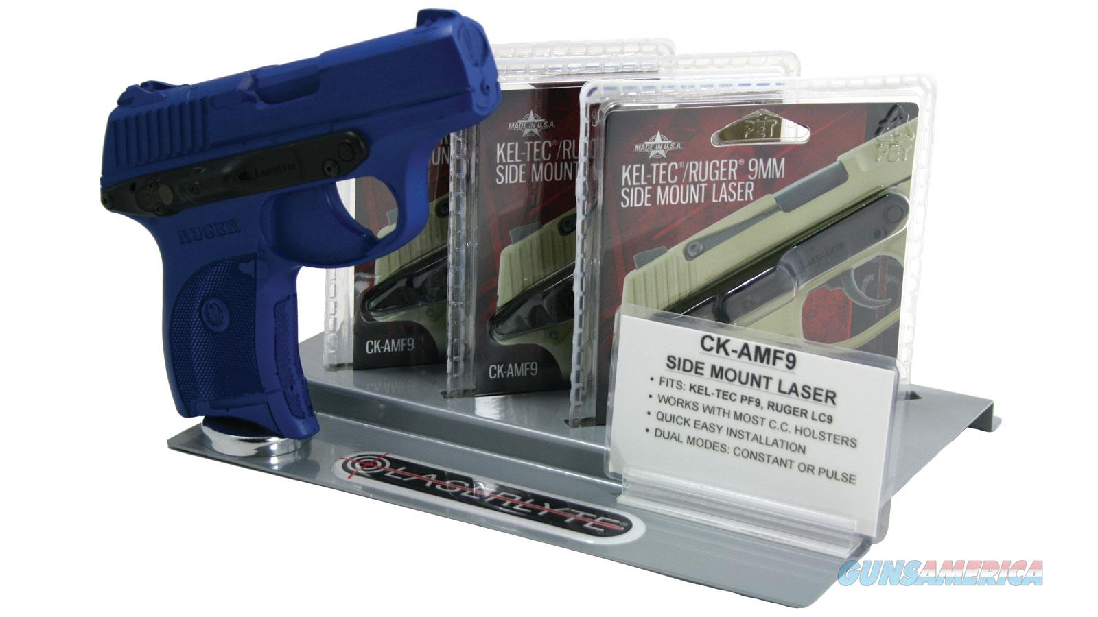 Laserlyte Stand W/3Ck-Amf9+Blue Gun STND-AMF9