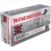 Winchester Ammo X4440 Super-X 44-40 Winchester 200 Gr Soft Point 50 Bx/ 10 Cs X4440