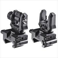 Command Arms Accessories Front & Rear Low Pro Flip Up Sights FFSFRS