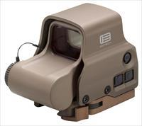 Eotech Exps30t Exps3 Holographic Weapon Sight  1X 30X23mm Obj 1 Moa Illuminated Circle W/Dot Tan Cr123a Lithium EXPS30TAN