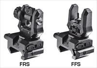 Command Arms Ffsfrs Low Profile Flip-Up Front And Rear Sights Picatinny Rail Blk FFSFRS