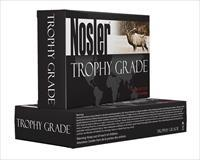 Nosler 48952 Trophy 338 Rem Ultra Mag 250Gr Accubond 20Bx/10Cs Brass 48952