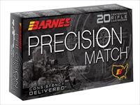 Barnes 30728 Precision Match 338 Lapua Mag 300 Gr Otm 20Box/10Case 716876150915