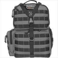 Goutdoors, Inc. Tactical Range Backpack W/Waist Strap Gray Nylon GPS-T1612BPG