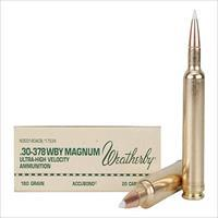 Weatherby Ammo 30-378Wby 180Gr Accubond 747115416271