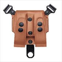 Galco Scl28 Scl Double Mag Carrier 28 Holds 2 Magazines Tan Leather SCL28