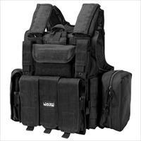Barska Bi12256 Vx-300 Tactical Vest Polyester Adjustable Black BI12256