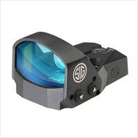 Sig Romeo Mini Reflex Sight 1X22 3Moa Red Dot 1.0Moa Adj Graphite SOR11001
