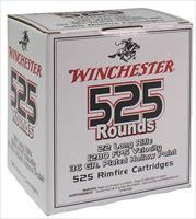 Winchester Ammo 22Lr525hp 555 22 Long Rifle 36 Gr Copper-Plated Hollow Point 5250 Bx/ 1 Cs 020892102651